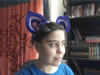 How to Crochet Cat Ears
