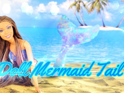How to Make a Doll Mermaid Tail - Doll Craft