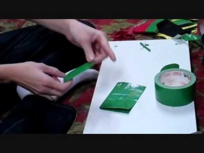 How to Make a Duct Tape Container. Coin Purse