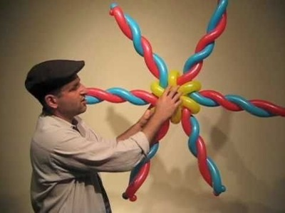 How to Make a Giant Balloon Star