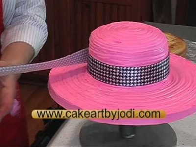 How to make a Hat & Purse Cake