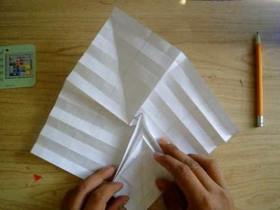 How to make a origami flasher part 2