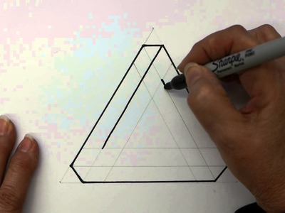 How to make an Optical Illusion an Impossible Triangle