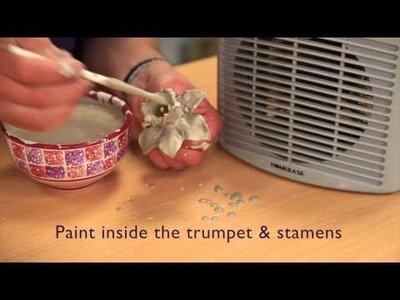 How to make Ceramic Daffodils