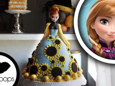 How to make Frozen : Princess Anna Doll Cake