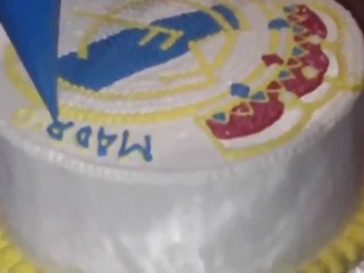 How to Make Real Madrid Cake Logo Homemade