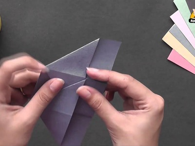 Make a Coin Purse - Origami in Hindi