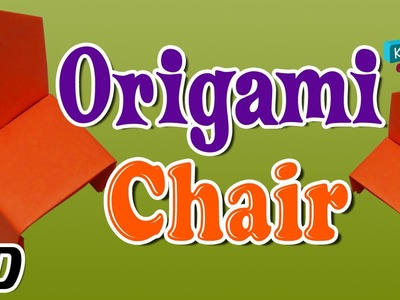Origami - How To Make CHAIR - Simple Tutorials In English