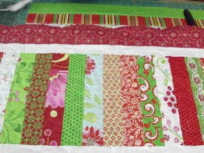 Two Table Topper projects from the Snow Flower Design Roll Part 1.2