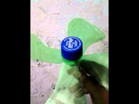 Bottle craft fan - Bottle craft-pet bottle recycle