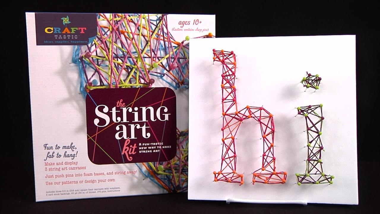 Craft-Tastic String Art Kit from Ann Williams Group