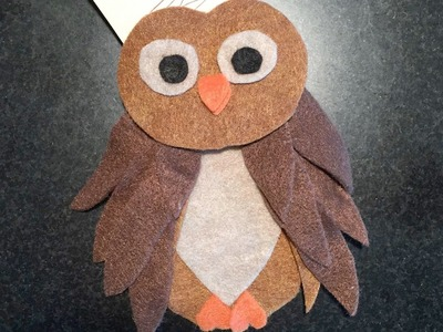 DIY Owl Craft for Back to School