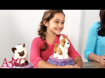 How To Make a Dog & Cat Pet Bed - Craft | American Girl