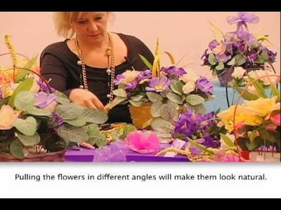 How to Make a Mother's Day Flower Basket - FLOMO
