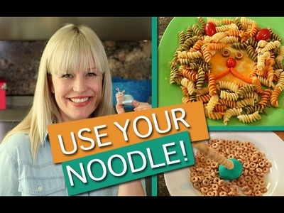 Noodle Craft, Pasta Snack & Educational Game! | Kids Outside The Box