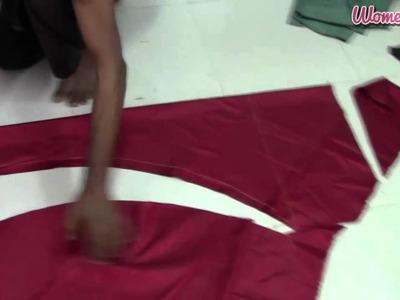 24 Panel Anarkali - 7. Marking and Cutting of Churidhar