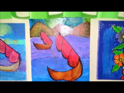 Art and Craft Exhibition Part 1- by students of 3rd 4th 5th
