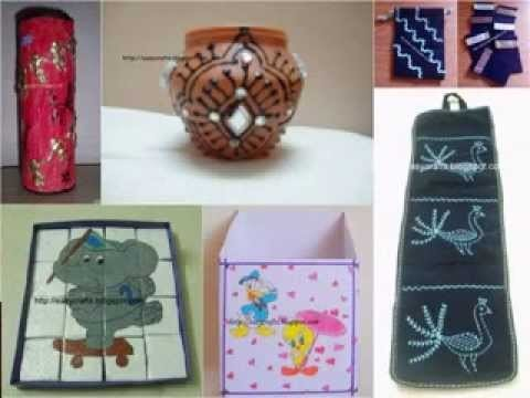 Best out of waste craft decor ideas my crafts and diy for Craft ideas from waste