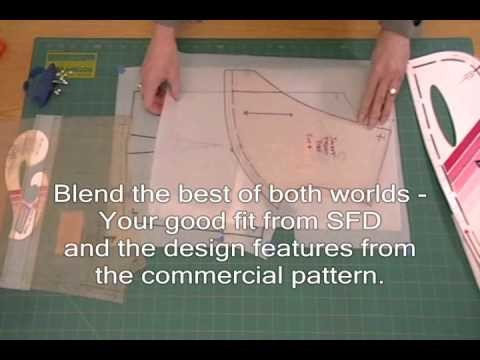 Example 3 - Jacket - How to fit commercial patterns with Sure-Fit Designs
