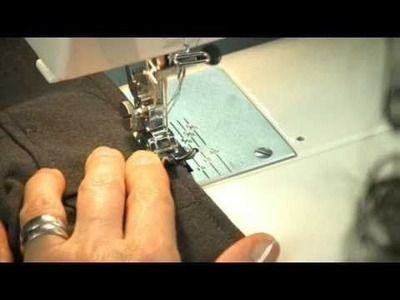 Pants Alteration Side Seam & Waistband - Sewing the Top of the Belt Loops (Free Sample)