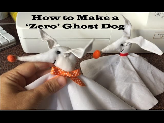 Zero from Nightmare Before Christmas (a Craft Tutorial)