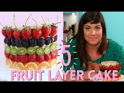 5 FRUIT LAYER CAKE - HOW TO MAKE CITRUS CAKE