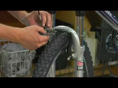 Bicycle Tips & Maintenance : How to Adjust the Brakes on Your Bicycle