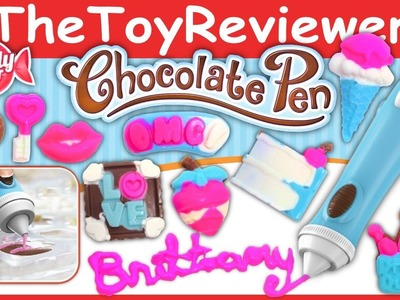 Candy Craft Chocolate Pen Unboxing Review by TheToyReviewer