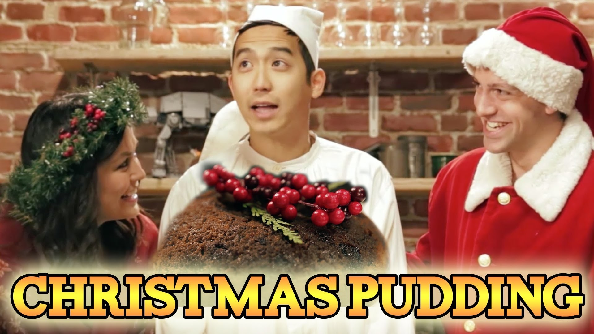CHRISTMAS PUDDING from A Christmas Carol, Feast of Fiction S3 Ep3