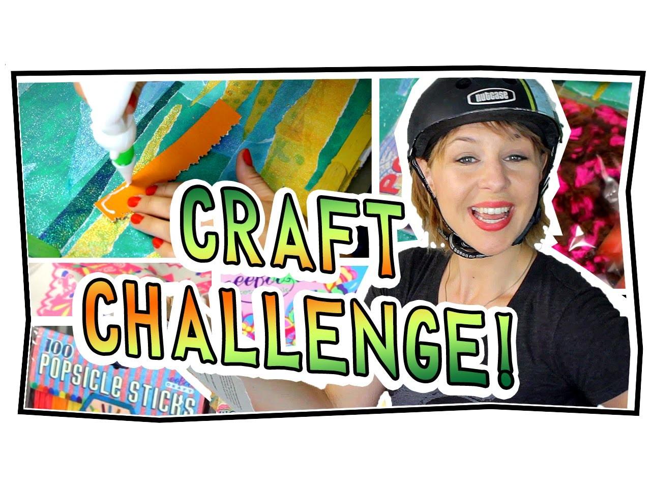 CRAFT CHALLENGE!!!