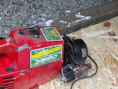 Homemade 12v Generator from Weed Eater