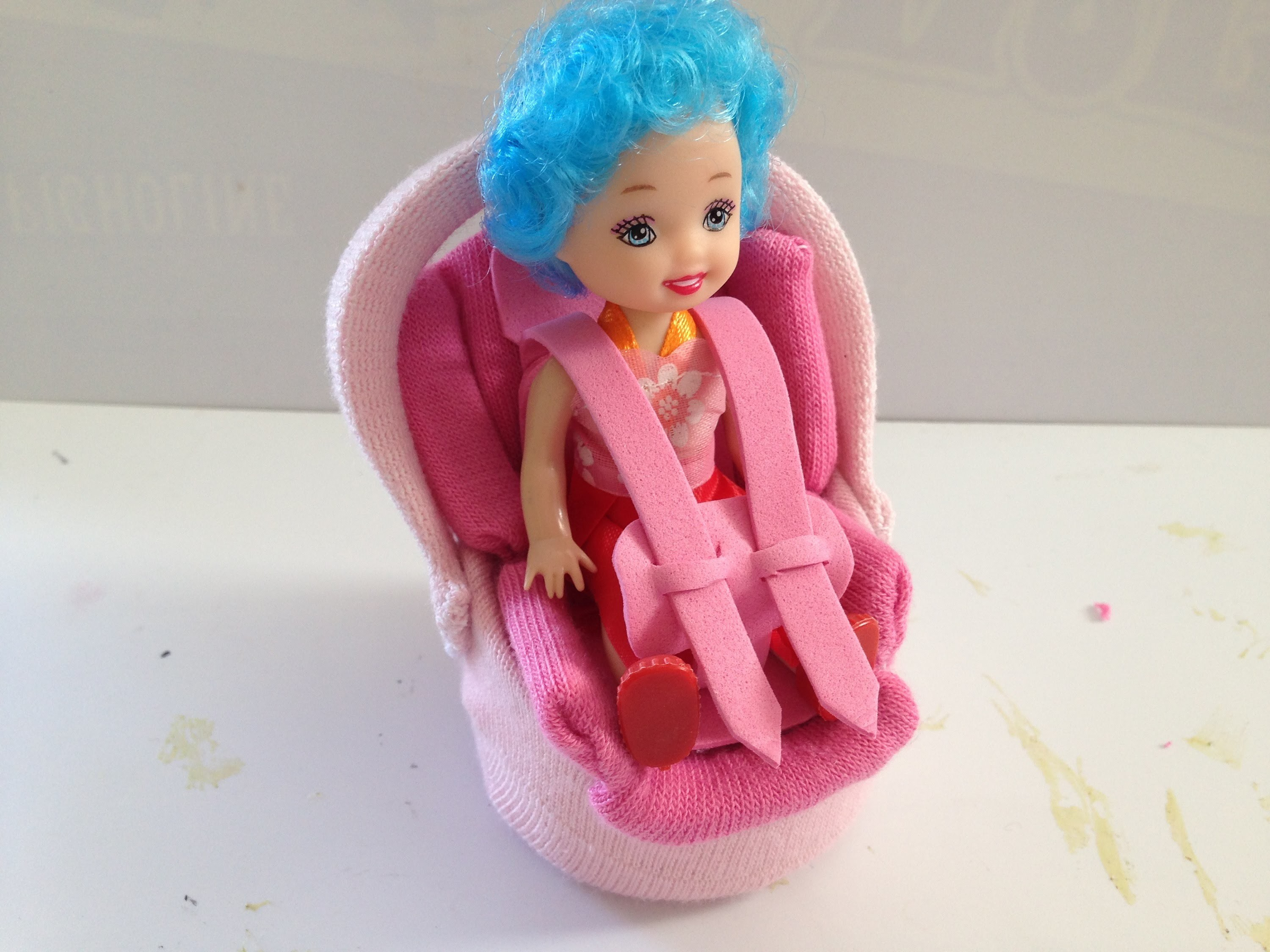 How to make a Baby Doll Car Seat