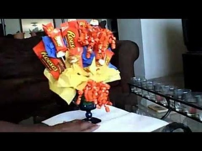 How to Make a Candy Bouquet Pt2