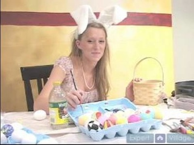 How to Make an Easter Basket : How to Paint Easter Baskets