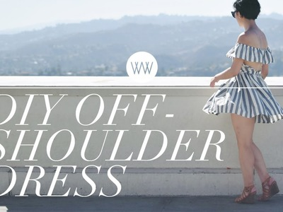 How to Make an Off-Shoulder Dress