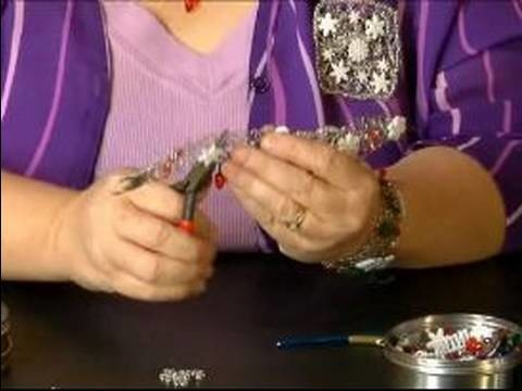 How to Make Christmas Bracelets : Finishing Wire Hardening for Christmas Bracelets