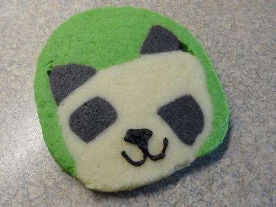 How to make panda cookies