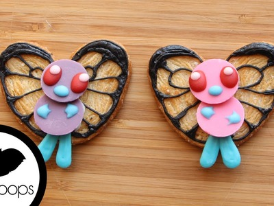 How to Make Pokemon: Butterfree Cookies | Cookie Hack