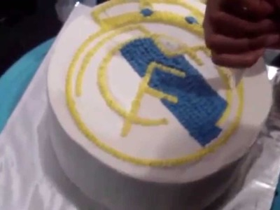 How to Make Real Madrid Logo Cake