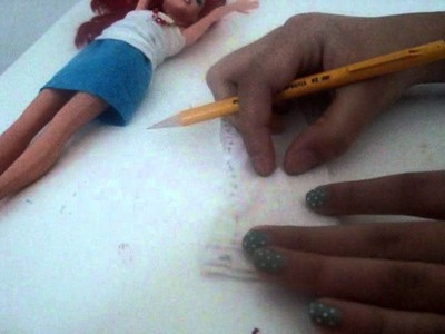 How to make skiny pants for doll