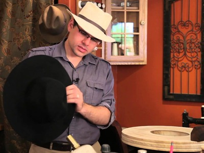 How to Shape Felt Cowboy Hats : Felt Hats