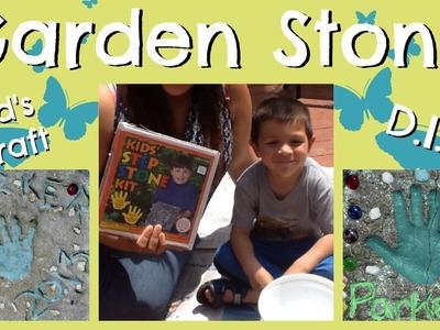 Kids Craft : Garden Stone