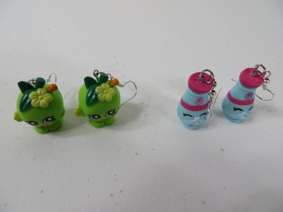 Learn How To Make Shopkins Earrings Jewelry Series Part Two Craft Fun