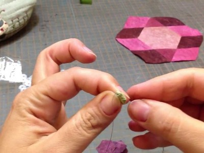 Micro hexagon part 1 (making micro hexagon flower)