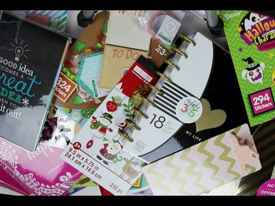 Planner.Craft Supply Haul! ~Target Dollar Spot, Michael's, & Erin Condren~