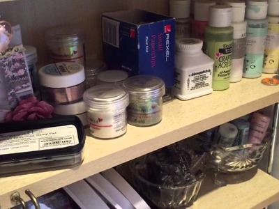 Scrimpy's well tidy craft room tour