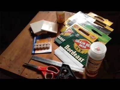 The Crafting Coach: learn how to make coasters out of beer cases