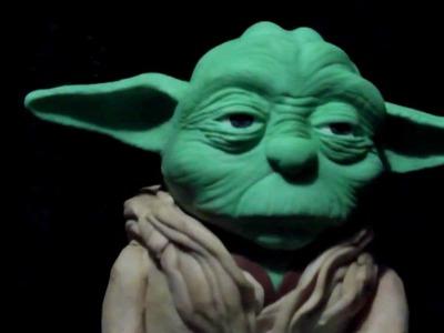 3D Yoda Star Wars Cake