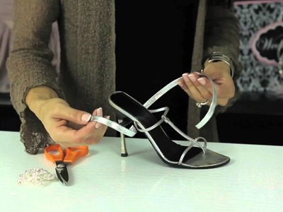 Adding a Strap to a Shoe : Glam Up Your Shoes