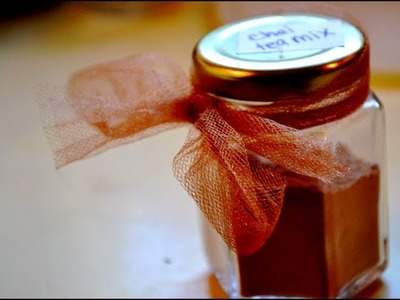 Chai Tea Mix | Holiday Gift Idea #2